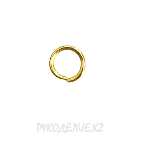 Кольцо соединительное для бус (1оборот) d-5мм (5шт)