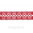 Кружево гипюр 4см 15 - Красный