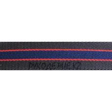 Резина декор 30мм (1, кор крас син)