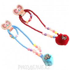 Детский набор бусы и браслет